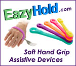 Eazy hold dot com soft hand grip assistive devices