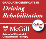 Graduate Certificate in Driving Rehabilitation online from McGill School of Physical and Occupational Therapy