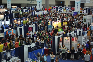 AOTA's 2013 Expo Hall at Annual Conference & Expo