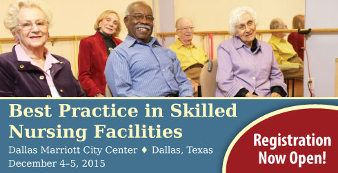 A conference on best practices in skilled nursing.