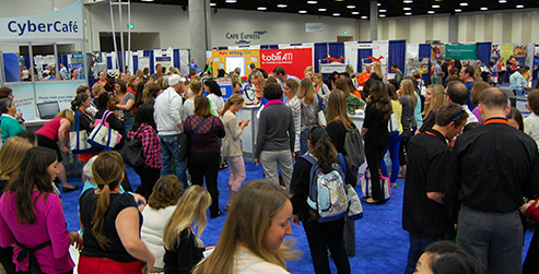 Attendees at AOTA's Annual Conference