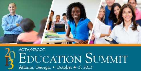 AOTA's 2013 Education Summit
