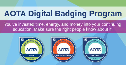 AOTA Digital Badging Program
