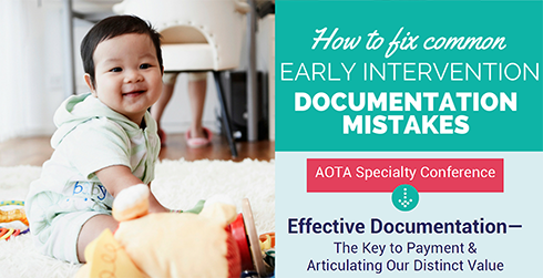 How to fix common early intervention documentation mistakes.