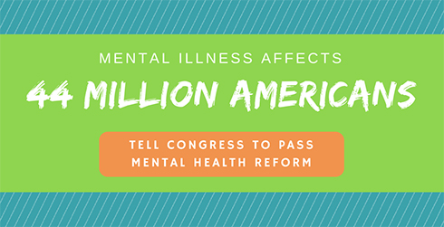 Tell congress to pass mental health reform