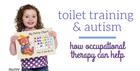 toilet training and autism - how OT can help