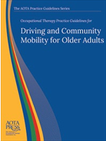 Driving and Community Mobility Practice Guidelines Cover