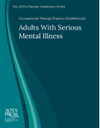 Adults with Serious Mental Illness Practice Guidelines Cover