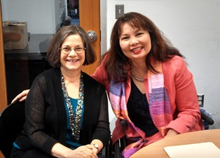 AOTPAC Chair meets Rep. Duckworth