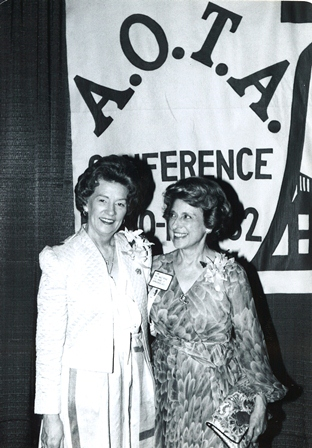 Lindy Boggs and Mae Hightwoer-Van Damm