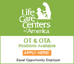 Life Care Centers of America period O T and O T A positions available period Click here to apply