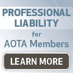 Professional liability for A O T A members period click here to learn more from Mercer