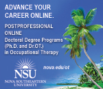 Postprofessional online doctoral degree programs in occupational therapy at Nova Southeastern University period Click here to learn more