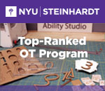 N Y U Steinhardt period Top ranked O T Program