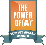 The Power of (A) Summit Award Winner Badge