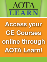AOTA Learn CE Courses
