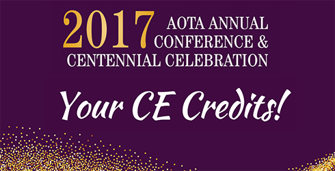 Annual Conference CE Credits