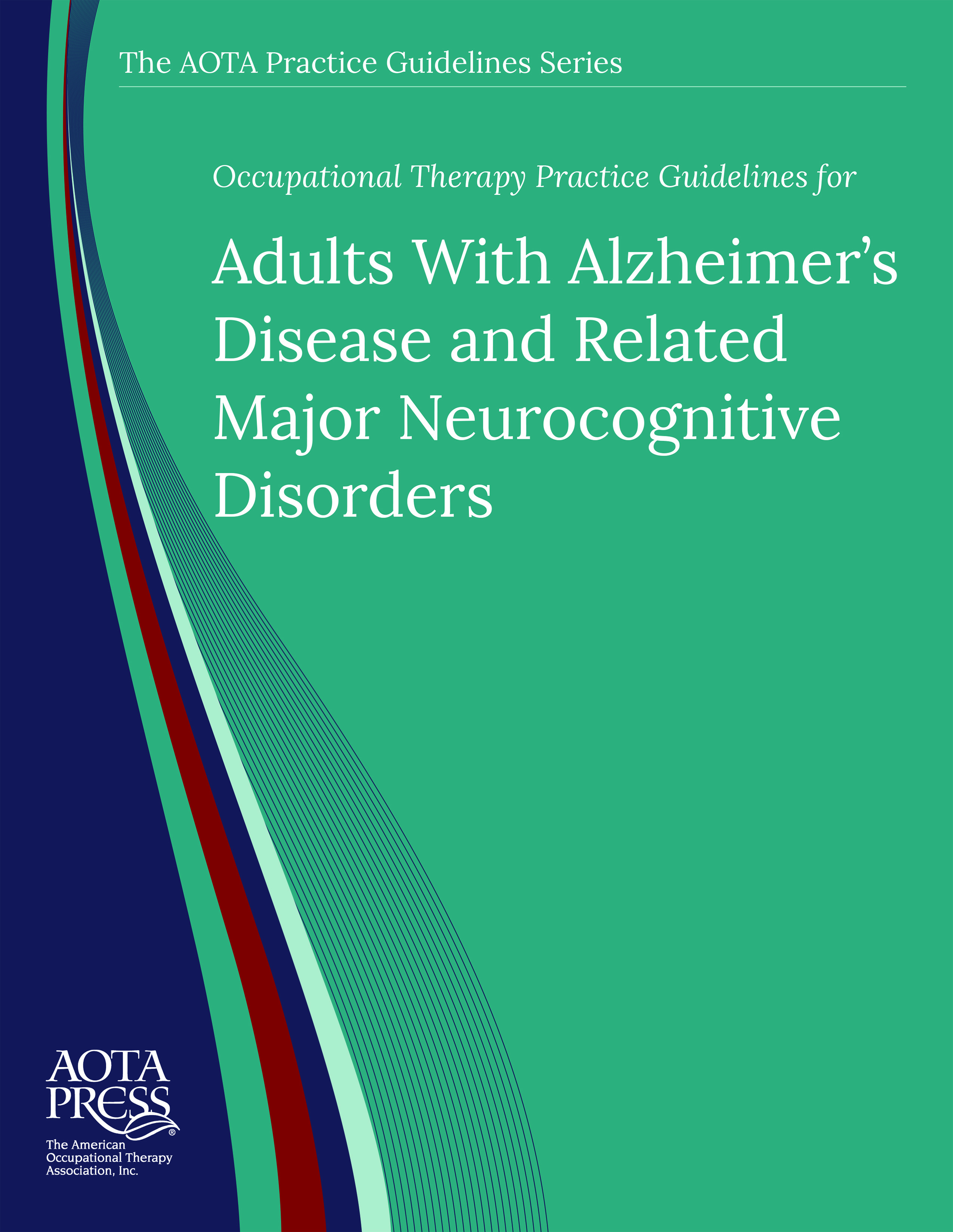 Alzheimer's Disease Practice Guidelines Cover