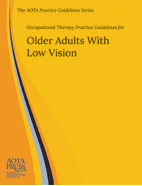 Older Adults with Low Vision Practice Guidelines Cover