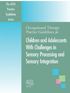 Sensory Processing Practice Guidelines Cover