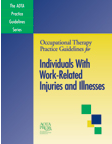 Individuals with Work-Related Injuries and Illnesses Practice Guidelines Cover