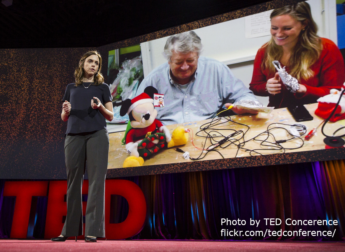 Holly Cohen in TED 2016 Talk describes hacking toys