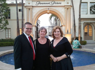 Shawn Phipps, Ginny Stoffel, and Christina Metzler at Voice Awards